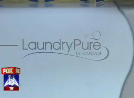 No Suds Laundry System Tested by Fox News