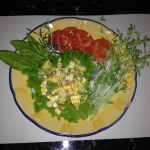 Corn salsa plated 2
