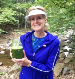 ELaine juice hiking
