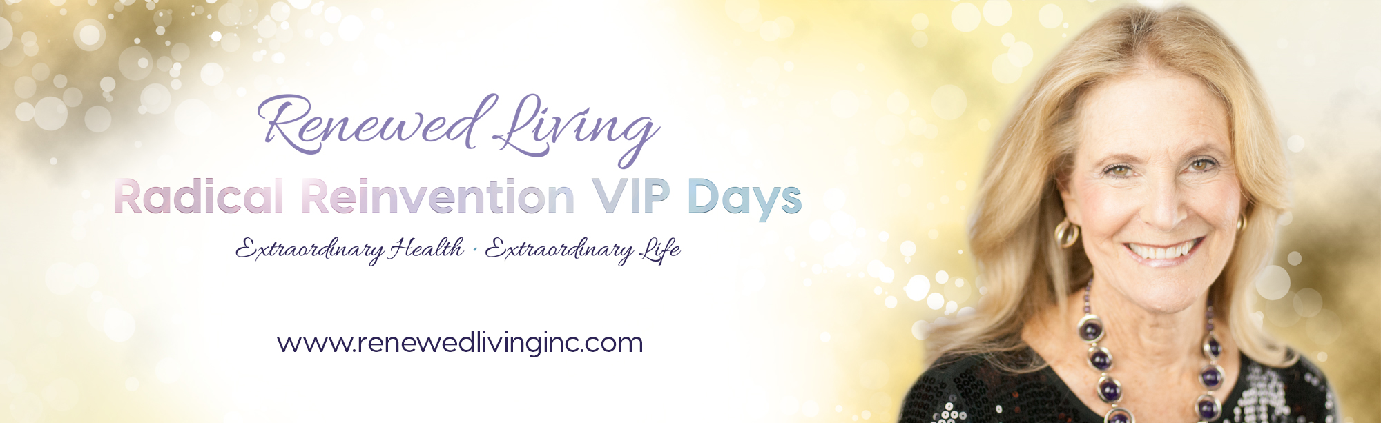 VIP with glitter - Renewed Living