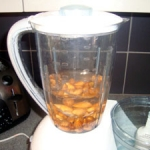 almonds-water-blender
