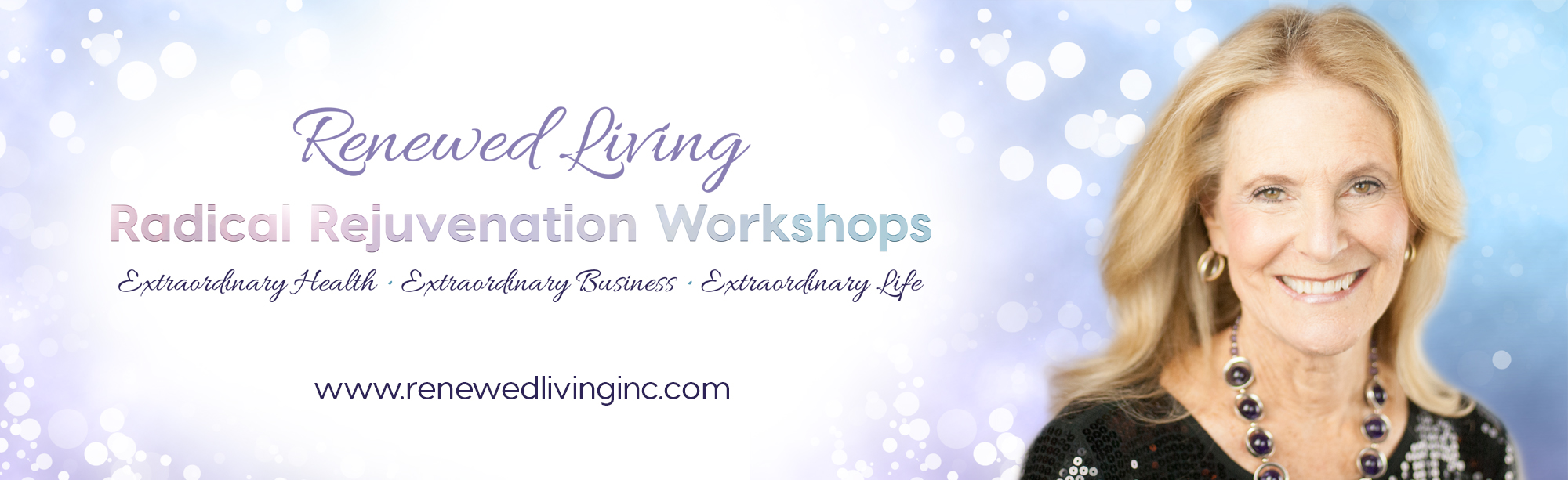 Workshop with glitter - Renewed Living
