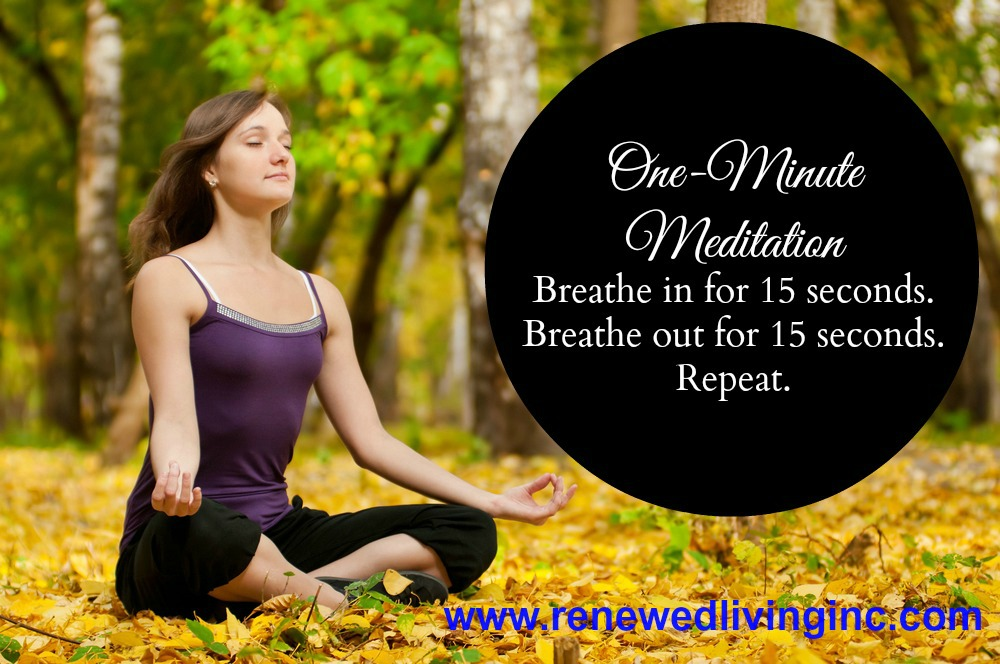 meditation one minute