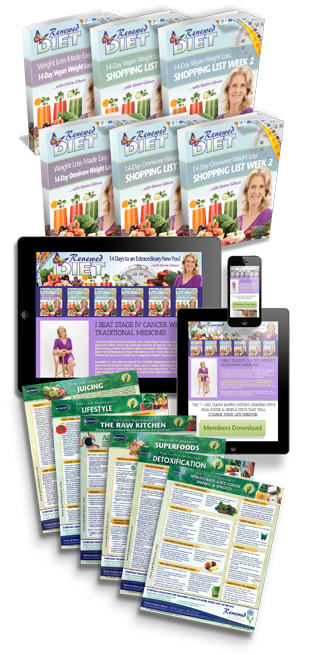 RENEWED LIVING DIET LOVE BUNDLE PACKAGE