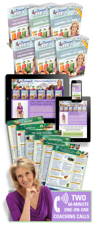 RENEWED LIVING DIET ULTIMATE SUPPORT PACKAGE