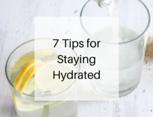 7 Tips for Staying Hydrated