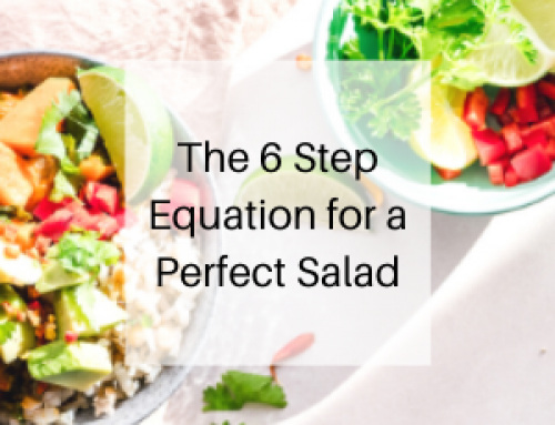 The 6 Step Equation for a Perfect Salad